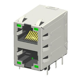 Shielded RJ45 Modular Jack Connector from China (mainland)