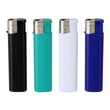 Slim Electronic Disposable Gas Lighters with Flame Adjustable, Disposable or Refillable Available from Guangdong Zhuoye Lighter Manufacturing Co. Ltd