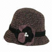 Elegant Cloche Hat from Taiwan