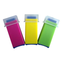 China Disposable Safety Square Blood Lancet, Various Colors are Available