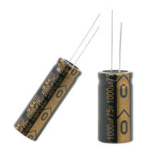 RXW Series Aluminum Electrolytic Capacitor from Taiwan