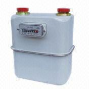 Domestic Household Aluminum Case Diaphragm Gas Meter from China (mainland)