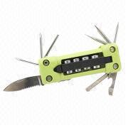 Hong Kong SAR 16-in-1 Screwdriver Tool Set with 4-pieces Sockets, LED Light and Laser Spotlight