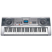 Teaching Type Electronic Keyboard with 61 Keys/Music Player/USB Flash Disk Not Included