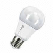 E27 Light Sensor A60 LED Bulb from China (mainland)