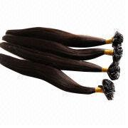 Dark Brown Hot Fusion Flat Indian Remy Hair Extension from China (mainland)