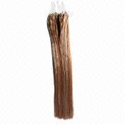 P30/613# 0.5g/pc Highlight color easy loop remy Brazilian hair extensions from China (mainland)