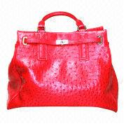Synthetic leather handbag from South Korea