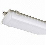 LED Light Fixtures, Waterproof, T8, CE/GS Certified, RoHS Directive-compliant, IP65 and ERP