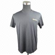 Round neck t-shirt from China (mainland)