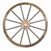 Wooden Wagon Wheel from China (mainland)