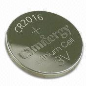 Hong Kong SAR Lithium Dioxide Button-cell Batteries with 0.5mA Continuous Current, for Remote Control Units
