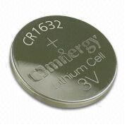 Dioxide Button Cell Batteries with 120mAh Nominal Capacity, for Car Alarm System