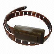Brown Carabao Horn Belt from Philippines