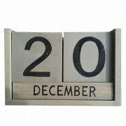 Wooden calendar from China (mainland)