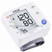 Voice Automatic Digital Wrist Blood Pressure Monitor from Hong Kong SAR