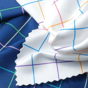 Paper Printed Jersey Fabric