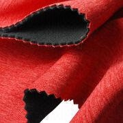 Heather Jersey Bonded Micro Fleece Fabric from Taiwan