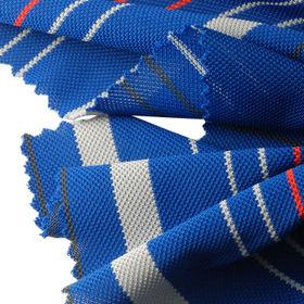 Auto Striped Full Dull Pique Fabric Lee Yaw Textile Co Ltd