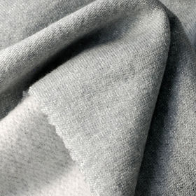Taiwan French Terry Fleece Fabric, Made of 72% Cotton + 18% Poly + 10% Lurex