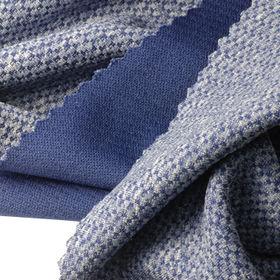 Check Interlock Fabric