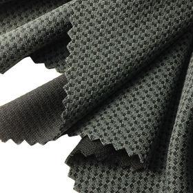 2-tone Check Interlock Fabric