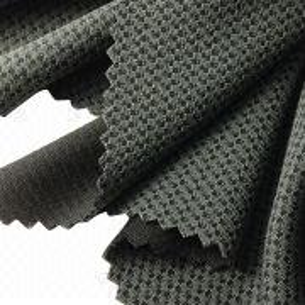2-tone Check Interlock Fabric from Taiwan