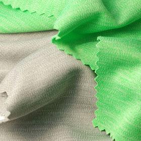 Heather Interlock Fabric from Taiwan