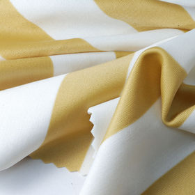 4-way Stretch Vertical Striped Tricot Fabric, Made of 41% Nylon + 40% Poly + 19% Spandex