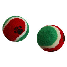 Hot Sale Paw Printed Cat and Dog Tennis Ball from China (mainland)