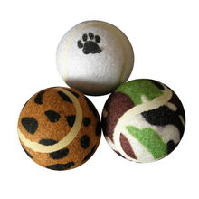 Hot selling dog toy tennis ball from China (mainland)