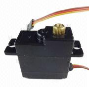 Micro Servo Motor, 17g, Metal Gear, Working at Low-voltage, Full Plastic Case for RC Models