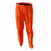 Waterproof Stiffening Twill T/C SQM Pant from China (mainland)