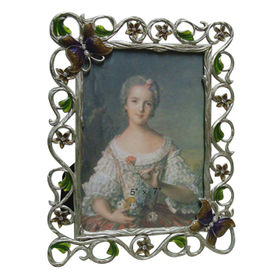 China Pewter Photo Frame