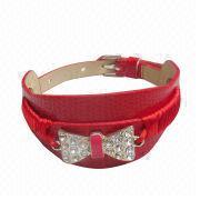 China Snake Skin PU Bracelet