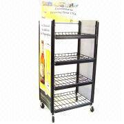 Wine Display Rolling Rack from China (mainland)