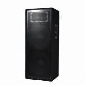 Dual 15-inch 2-way passive carpet wooden cabinet speaker from China (mainland)