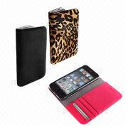 Italian Calf Hair Smartphone Pouch from South Korea