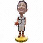 2014 Polyresin Crafts Bobble Head from China (mainland)