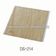New Eco-material Wood Grain Laminated Pvc Wall Panel