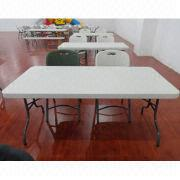 Plastic folding table from China (mainland)