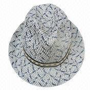 Melange Men's Straw Hat from China (mainland)