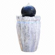 Fiberglass Ball Garden Fountain from China (mainland)