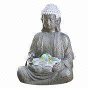 Buddha Polyresin Garden Fountain from China (mainland)