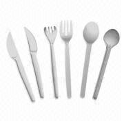 Disposable Plastic Fork/Knife and Spoon from China (mainland)