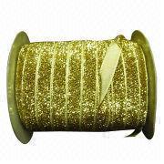 Metallic velvet ribbons from China (mainland)