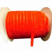 Polyamide velvet ribbons from China (mainland)