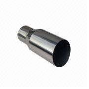 Stainless Steel Polished Tail Pipe from China (mainland)