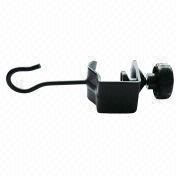 U-shaped clamp with hook