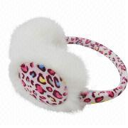 2014 Leopard Printed Ear Muff from China (mainland)